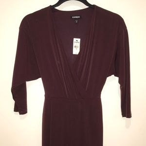Maroon express jumpsuit
